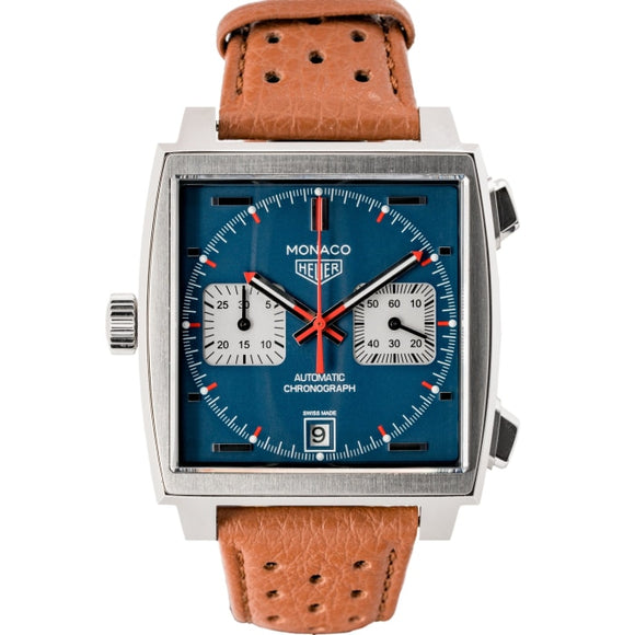 TAG Heuer Monaco Steve McQueen Calibre 11 Stainless Steel 39mm x 39mm (CAW211P.FC6183) - Boston