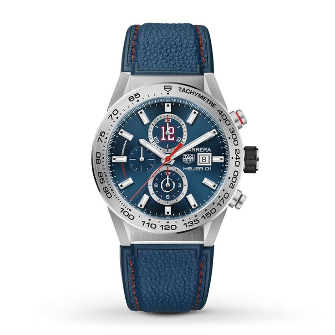Tag Heuer Tom Brady Carrera 43Mm (Car201R.ft6120) - Watches Boston