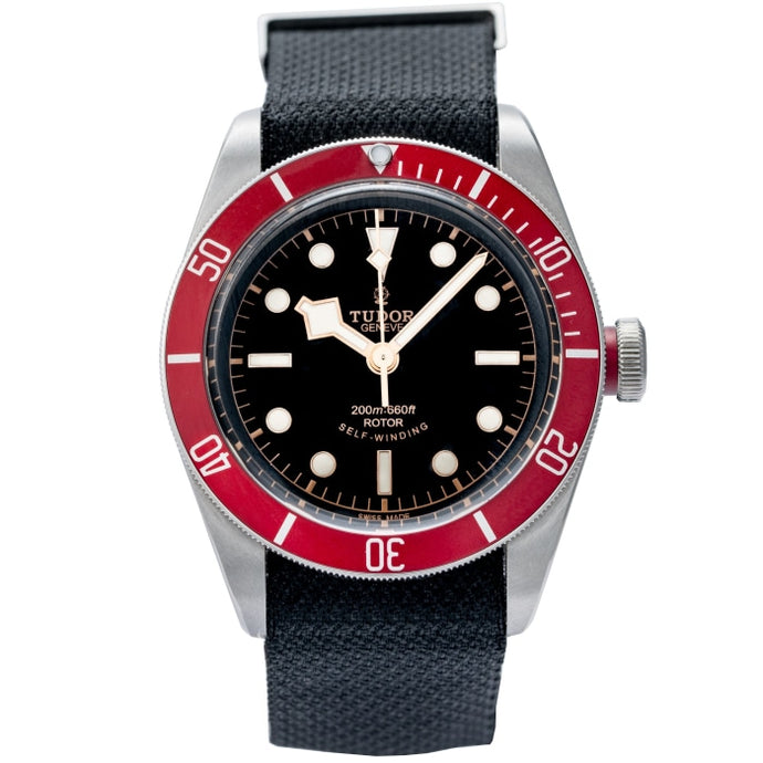 Tudor Heritage Black Bay 41mm Steel Black Dial (79220R) - Boston