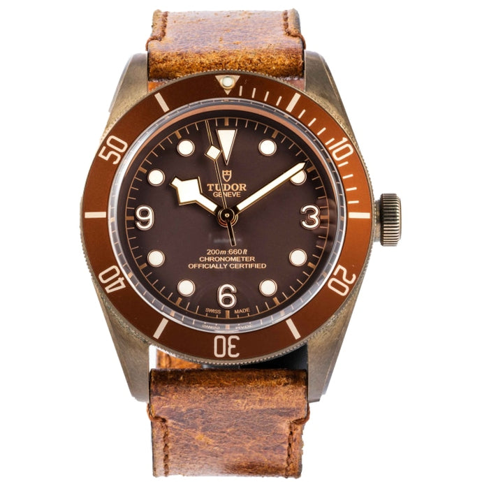 Tudor Heritage Black Bay Bronze 43mm (79250BM) - Boston