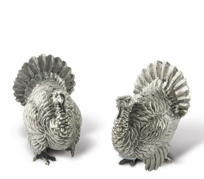 Turkeys Salt & Pepper Shaker Set/2 - HOME & DECOR Boston