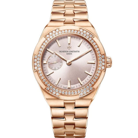 Vacheron Constantin Overseas Automatic 37Mm Ladies Rose Gold (2305V/100R-B077) - Watches Boston