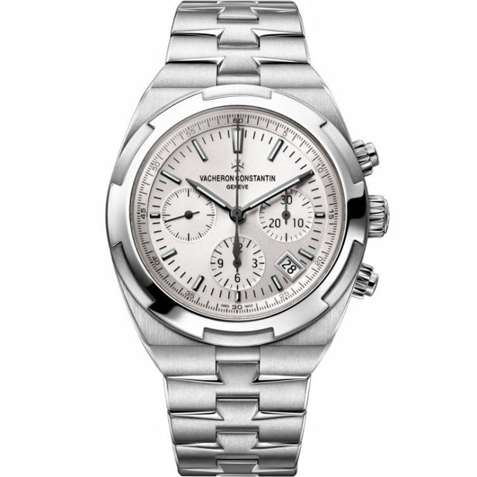 Vacheron Constantin Overseas Automatic Chronograph 42.5Mm Stainless Steel (5500V/110A-B075) - Watches Boston