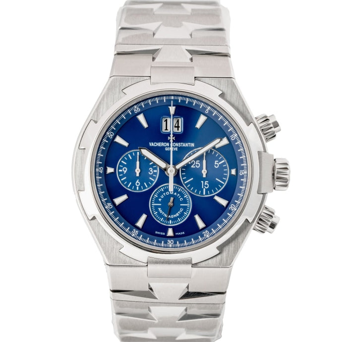 Vacheron Constantin Overseas Chronograph Stainless Steel 42mm (49150/B01A-9745) - MINT - Boston