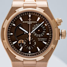 Load image into Gallery viewer, Vacheron Constantin Overseas Dual Time Rose Gold Chocolate Dial 42mm (47450/B01R-9229) - Boston