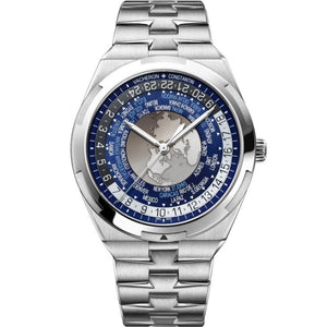 Vacheron Constantin Overseas World Time Automatic 43.5Mm Stainless Steel (7700V/110A-B172) - Watches Boston