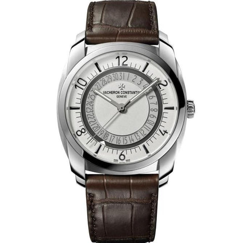 Vacheron Constantin Quai De Lile Date 41Mm Stainless Steel (4500S-000A-B195) - Watches Boston