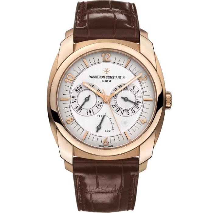 Vacheron Constantin Quai De Lile Day-Date And Power Reserve 41Mm Rose Gold (85050-000R-I0P29) - Watches Boston