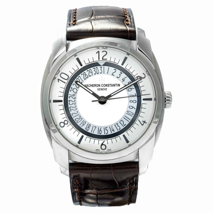 Vacheron Constantin Quai de L'ile Silver Dial Stainless Steel 41mm (4500S/000A-B195) - Boston