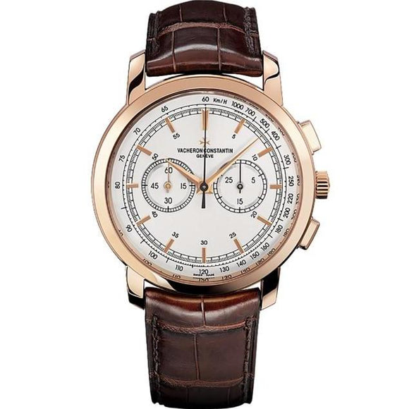 Vacheron Constantin Traditionnelle Chronograph 42Mm Rose Gold (47192/000R-9352) - Watches Boston