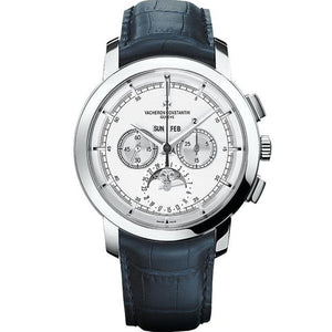 Vacheron Constantin Traditionnelle Chronograph Perpetual Calendar 43Mm Platinum (47292-000P-9590) - Watches Boston