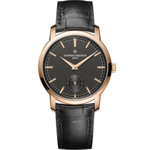 Vacheron Constantin Traditionnelle Manual 38Mm 18K Rose Gold (82172/000R-B402) - Watches Boston