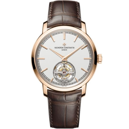 Vacheron Constantin Traditionnelle Tourbillon Rose Gold (6000T/00R-B346) - Watches Boston
