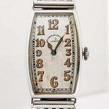 Load image into Gallery viewer, Vacheron Constantin Vintage 1920s Oversized White Gold Tonneau Watch - Boston