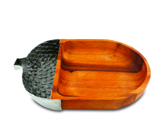 Vagabond Acorn Chip & Dip Bowl - Home & Decor Boston