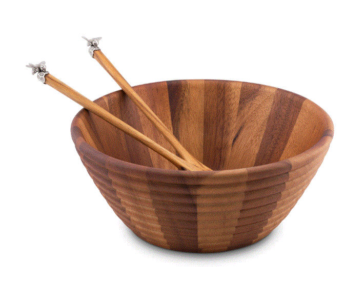 Vagabond Bee Salad Bowl Set - Home & Decor Boston