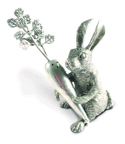 Vagabond Rabbit Carrot Salt & Pepper Set - Home & Decor Boston