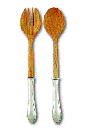 Vagabond Wales Salad Server Set Of 2 - Home & Decor Boston