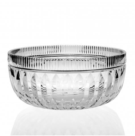 W. YEOWARD CRYSTAL CRISTINA SALAD BOWL - Boston