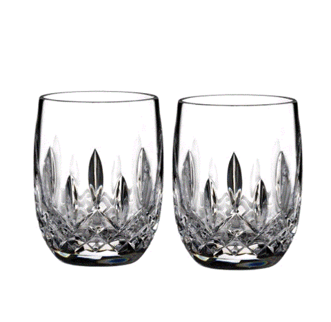 Waterford Lismore Rounded Tumbler Set Of 2 (3 Sets Available) - Engagement Boston