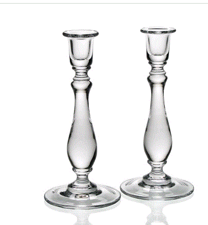 William Yeoward Crystal Meryl Candlesticks Set Of 2 - Home & Decor Boston