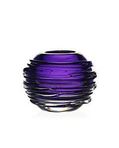 William Yeoward Studio Miranda Mini Glass Vase (Amethyst) - Boston
