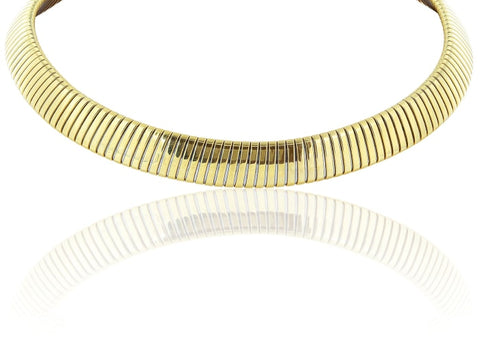 Yellow Gold Necklace Signed Bulgari - Jewelry Boston