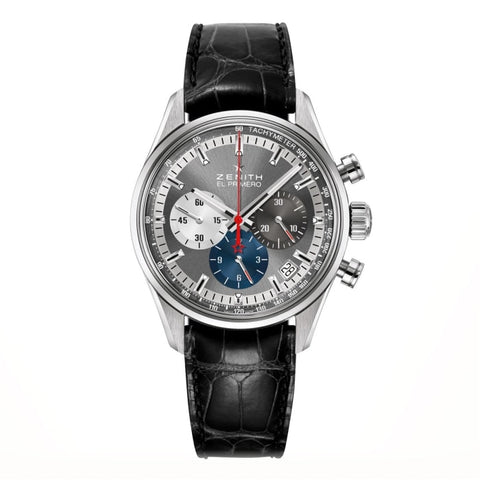 Zenith Chronomaster El Primero 38Mm Stainless Steel (03.2150.400/26.c714) - Watches Boston
