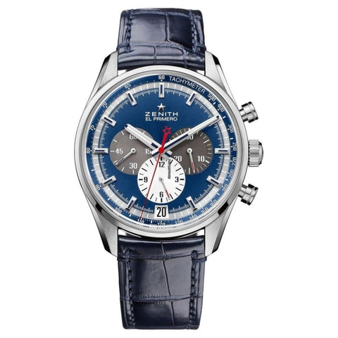 Zenith Chronomaster El Primero 38Mm Stainless Steel (03.2150.400/53.c700) - Watches Boston