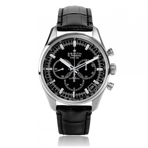Zenith Chronomaster El Primero 42Mm Stainless Steel (03.2080.400/21.c496) - Watches Boston