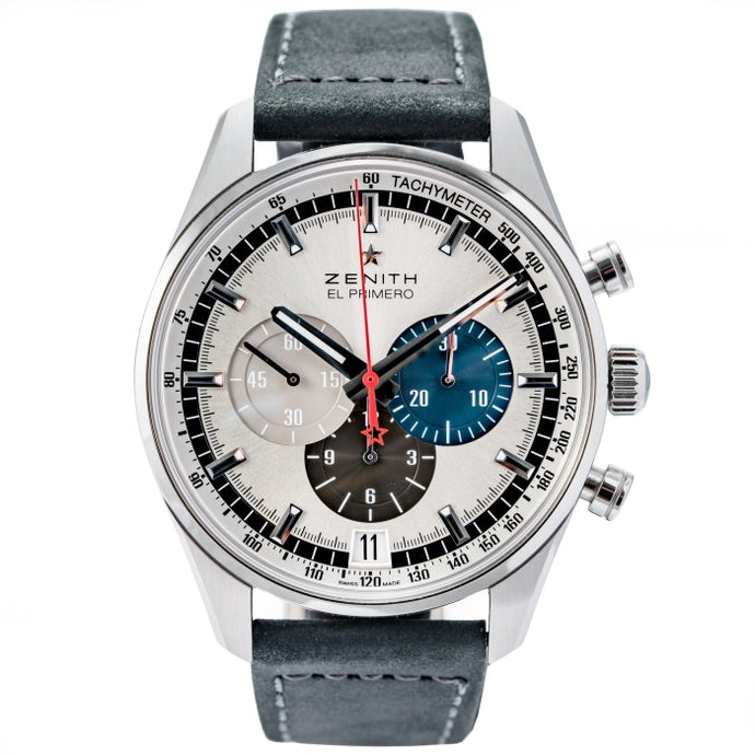Zenith Chronomaster El Primero Chronograph Stainless Steel 42mm (03.2040.400/69.C494) - Boston