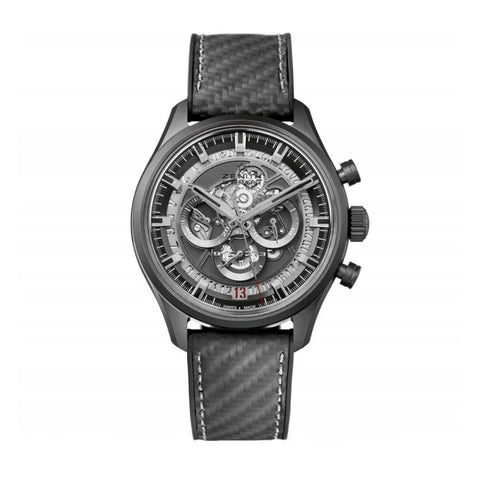Zenith Chronomaster El Primero Skeleton 45Mm Black Ceramic (49.2520.400/98.r578) - Watches Boston