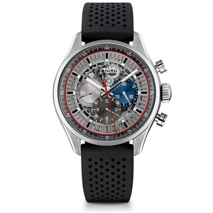 Zenith Chronomaster El Primero Skeleton 45Mm Black Stainless Steel (03.2522.400/69.r576) - Watches Boston