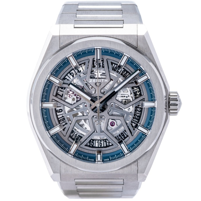 Zenith El Primero Defy Classic Skeletonized Dial Titanium 41mm (95.9000.670/78.M9000) - Boston