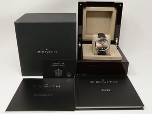 Zenith Elite Captain Central Second 40Mm Stainless Steel (03.2020.670/22.c498) - Watches Boston