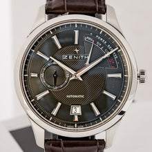 Load image into Gallery viewer, Zenith Elite Power Reserve El Primero Stainless Steel 40mm (03.2120.685/22.C493) - Boston