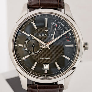 Zenith Elite Power Reserve El Primero Stainless Steel 40mm (03.2120.685/22.C493) - Boston