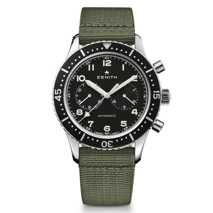 Zenith Pilot Cronometro - Tipo Cp-2 - 43Mm Stainless Steel (03.2240.4069/21.c803) - Watches Boston
