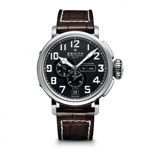 Zenith Pilot Montre Daeronef Type 20 Annual Calendar 48Mm Stainless Steel (03.2430.4054/21.c721) - Watches Boston