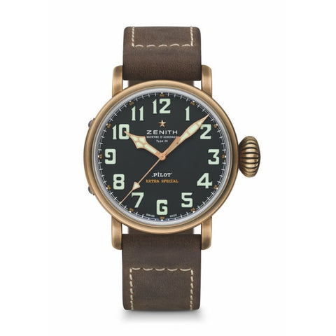 Zenith Pilot Type 20 Extra Special 45Mm Bronze (29.2434.679/21.c804) - Watches Boston