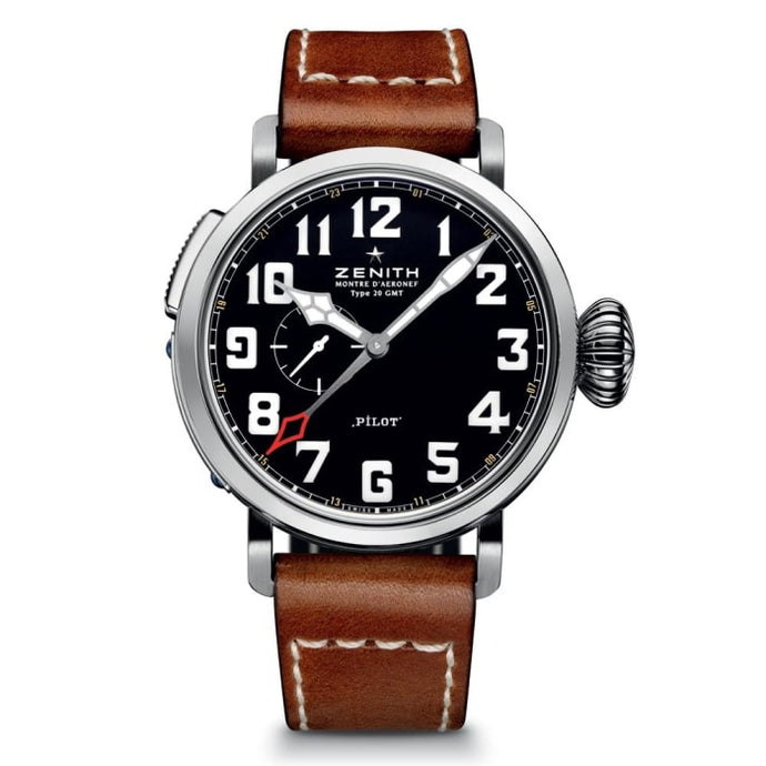 Zenith Pilot Type 20 Extra Special Gmt 48Mm Stainless Steel (03.2430.693/21.c723) - Watches Boston