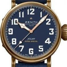 Zenith Pilot Type 20 Extra Special Montre d'Aeronef Stainless Steel/Strap (11.1942.679/53.C808) - WATCHES Boston