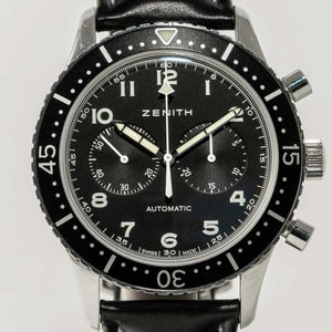 Zenith CPI Black Dial - Boston