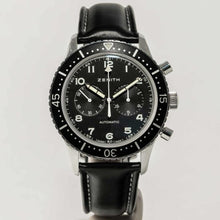 Load image into Gallery viewer, Zenith CPI Black Dial - Boston