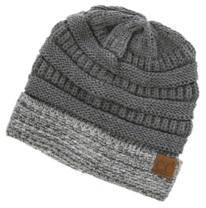 74becfc0271 Grey C.C Boucle Cuff Beanie – Small Town Vintage Heart