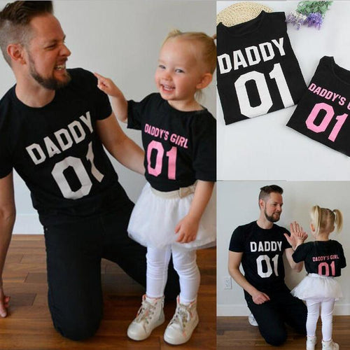 Daddy's Girl Family Summer T-Shirt
