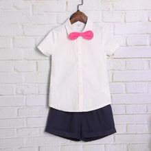 Load image into Gallery viewer, Navy Blue Summer Family Outfits