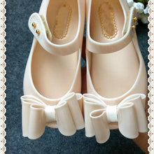 Load image into Gallery viewer, Mom Girl Bowknot Jelly Shoes
