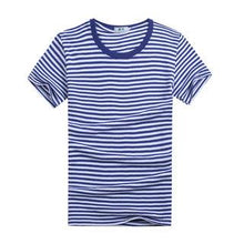 Load image into Gallery viewer, Blue Stripes Family T-Shirt