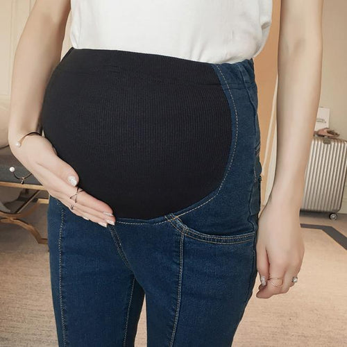 Maternity Fashion Casual Jeans